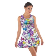 Lilac Lillys Cotton Racerback Dress