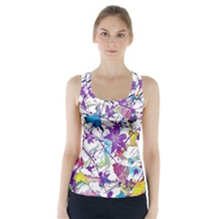 Lilac Lillys Racer Back Sports Top