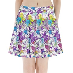 Lilac Lillys Pleated Mini Skirt