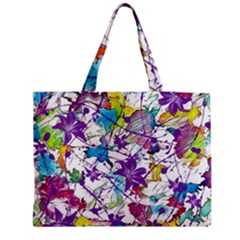 Lilac Lillys Medium Tote Bag by designworld65
