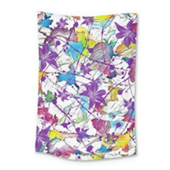 Lilac Lillys Small Tapestry by designworld65