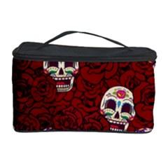 Funny Skull Rosebed Cosmetic Storage Case