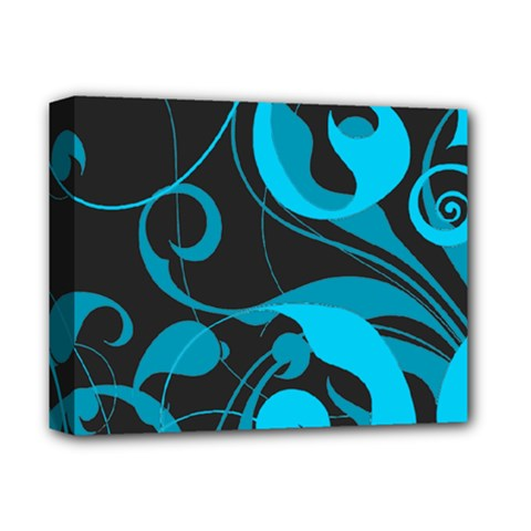 Floral Pattern Deluxe Canvas 14  X 11  by Valentinaart