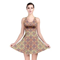 Vintage Ornate Baroque Reversible Skater Dress