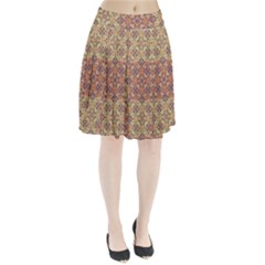 Vintage Ornate Baroque Pleated Skirt by dflcprintsclothing