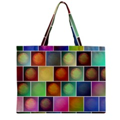 Multicolored Suns Zipper Mini Tote Bag by linceazul