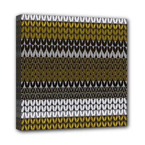 Pattern Mini Canvas 8  X 8  by Valentinaart