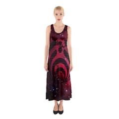 Bassnectar Galaxy Nebula Sleeveless Maxi Dress by Onesevenart