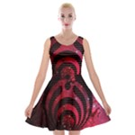 Bassnectar Galaxy Nebula Velvet Skater Dress