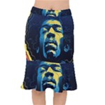 Gabz Jimi Hendrix Voodoo Child Poster Release From Dark Hall Mansion Mermaid Skirt