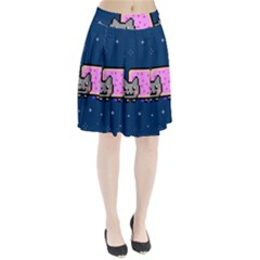 Nyan Cat Pleated Skirt by Onesevenart