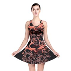 Panic At The Disco   Lying Is The Most Fun A Girl Have Without Taking Her Clothes Reversible Skater Dress by Onesevenart