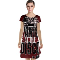 Panic At The Disco Poster Cap Sleeve Nightdress by Onesevenart