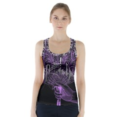 Panic At The Disco Racer Back Sports Top by Onesevenart
