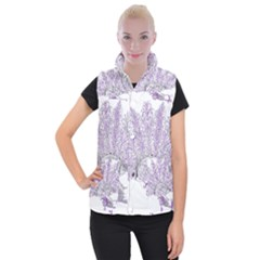 Panic At The Disco Women s Button Up Puffer Vest by Onesevenart