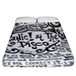 Panic! At The Disco Lyric Quotes Fitted Sheet (King Size)