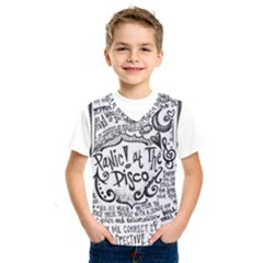 Panic! At The Disco Lyric Quotes Kids  Sportswear by Onesevenart