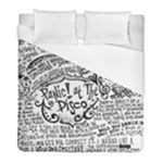 Panic! At The Disco Lyric Quotes Duvet Cover (Full/ Double Size)