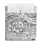 Panic! At The Disco Lyric Quotes Duvet Cover Double Side (Full/ Double Size)