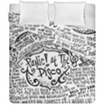 Panic! At The Disco Lyric Quotes Duvet Cover Double Side (California King Size)
