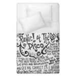 Panic! At The Disco Lyric Quotes Duvet Cover (Single Size)