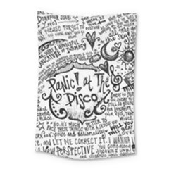 Panic! At The Disco Lyric Quotes Small Tapestry by Onesevenart