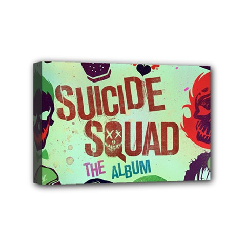 Panic! At The Disco Suicide Squad The Album Mini Canvas 6  X 4  by Onesevenart