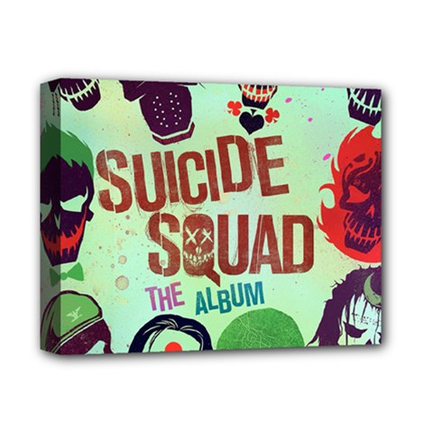 Panic! At The Disco Suicide Squad The Album Deluxe Canvas 14  X 11  by Onesevenart