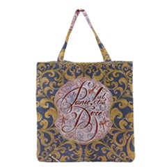 Panic! At The Disco Grocery Tote Bag by Onesevenart