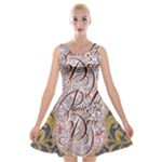 Panic! At The Disco Velvet Skater Dress
