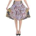 Panic! At The Disco Flared Midi Skirt