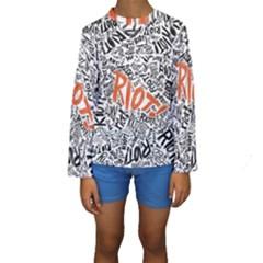 Paramore Is An American Rock Band Kids  Long Sleeve Swimwear by Onesevenart