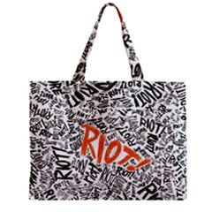 Paramore Is An American Rock Band Zipper Mini Tote Bag by Onesevenart