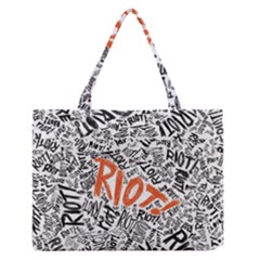 Paramore Is An American Rock Band Medium Zipper Tote Bag by Onesevenart
