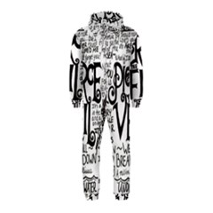 Pierce The Veil Music Band Group Fabric Art Cloth Poster Hooded Jumpsuit (kids) by Onesevenart