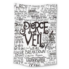 Pierce The Veil Music Band Group Fabric Art Cloth Poster Large Tapestry by Onesevenart
