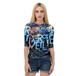 Pierce The Veil Quote Galaxy Nebula Quarter Sleeve Tee