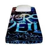 Pierce The Veil Quote Galaxy Nebula Fitted Sheet (Single Size)