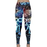 Pierce The Veil Quote Galaxy Nebula Classic Yoga Leggings