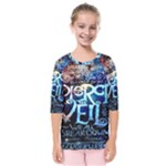 Pierce The Veil Quote Galaxy Nebula Kids  Quarter Sleeve Raglan Tee