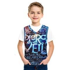 Pierce The Veil Quote Galaxy Nebula Kids  Sportswear by Onesevenart