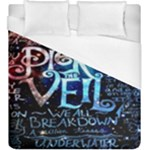 Pierce The Veil Quote Galaxy Nebula Duvet Cover (King Size)