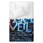 Pierce The Veil Quote Galaxy Nebula Duvet Cover (Single Size)