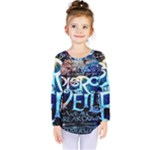 Pierce The Veil Quote Galaxy Nebula Kids  Long Sleeve Tee