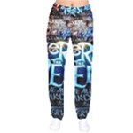 Pierce The Veil Quote Galaxy Nebula Drawstring Pants