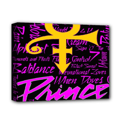 Prince Poster Deluxe Canvas 14  X 11  by Onesevenart