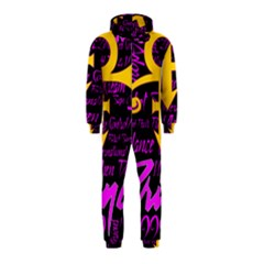 Prince Poster Hooded Jumpsuit (Kids) by Onesevenart