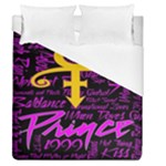 Prince Poster Duvet Cover (Queen Size)
