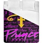 Prince Poster Duvet Cover (California King Size)