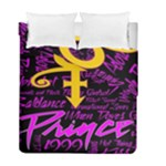 Prince Poster Duvet Cover Double Side (Full/ Double Size)
